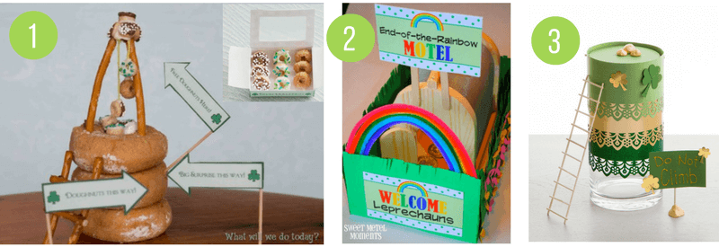 St Patricks Day Leprechaun Traps & Tricks - fun ideas to celebrate St Paddys Day for kids!
