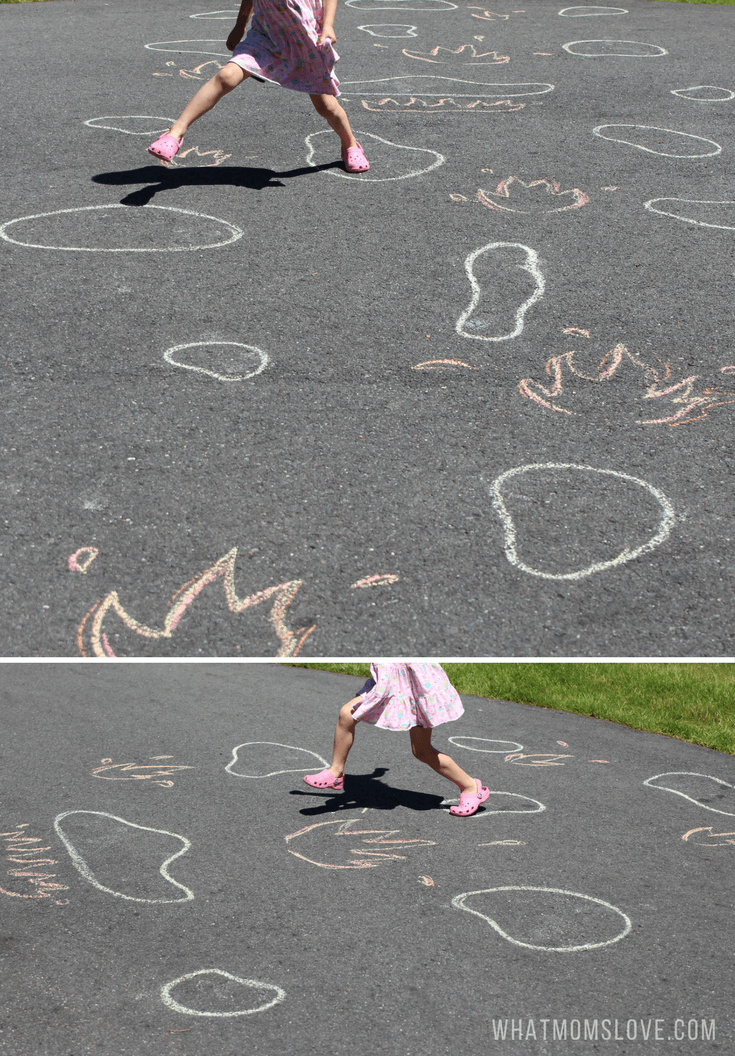 Sidewalk Chalk Ideas For Kids | Fun outdoor games and activities for summer