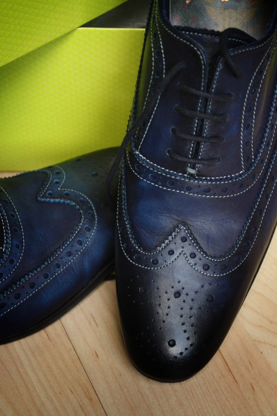 brogue detail
