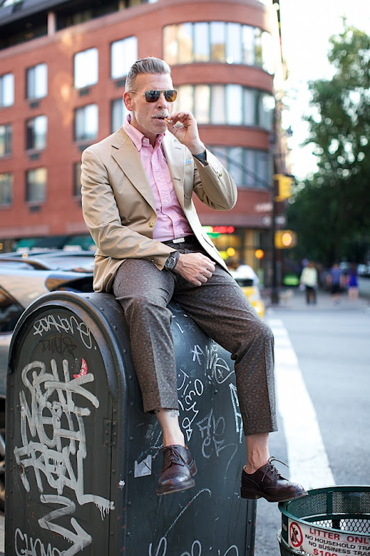 Nick Wooster - leopardish camo