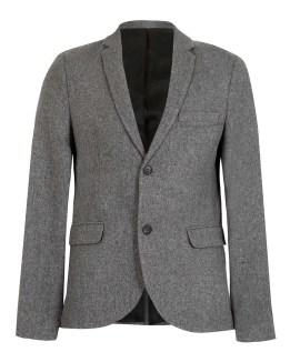 Grey skinny blazer