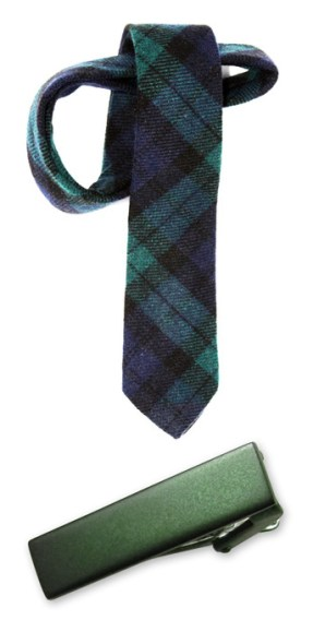 tie and tie clip