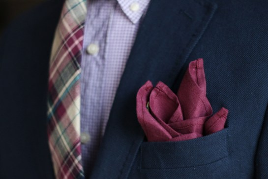 burgundy-pocket-square