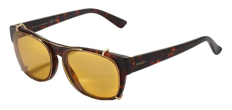 gucci clip on sunglasses