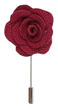 red-lapel-flower