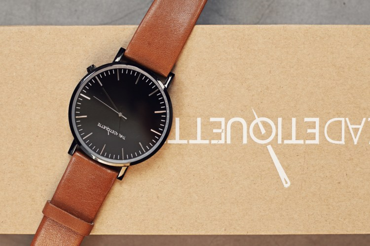 fashion genuine watch etiquette type unisex watches leather show strap product thread