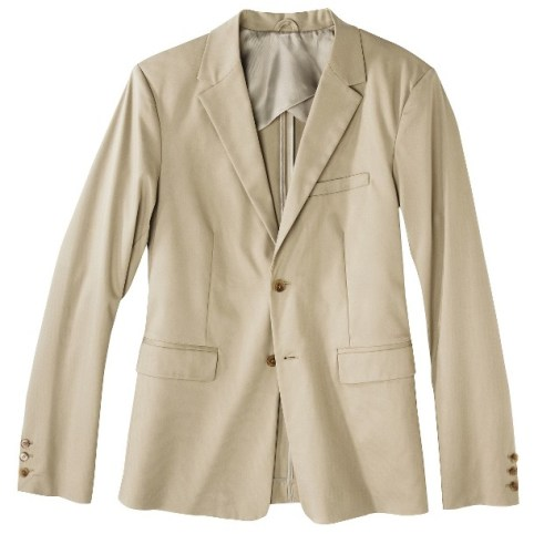 Phillip Lim for Target® Men's Cotton Stretch Blazer - Khaki
