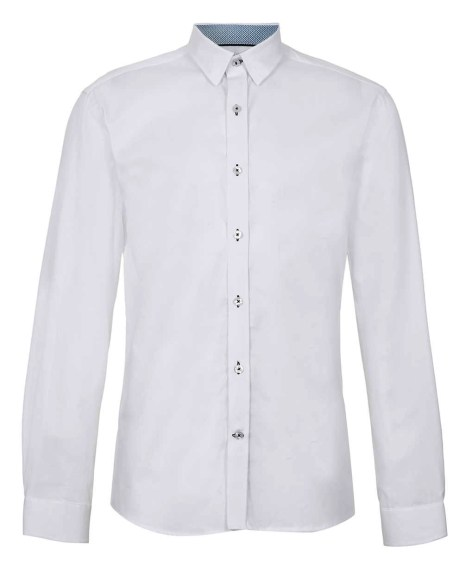 White SELECTED HOMME SHIRT