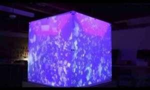Poznajcie interaktywną kostkę łączącą się z Kinectem!