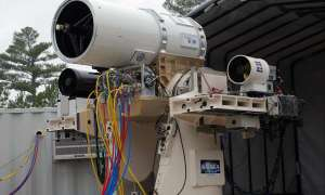 Wielka Brytania chce zbudować działo laserowe