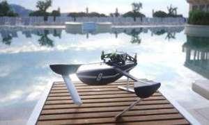 Nowa konstrukcja firmy Parrot – Hydrofoil Drone, czyli dron wodolot