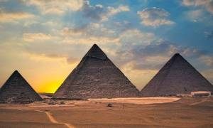 Skany termiczne ukazały anomalię w piramidzie Cheopsa