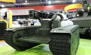 Modularny mini-czołg może pełnić prawie każdą funkcję bojową