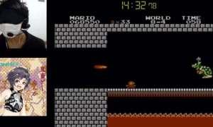 W 15 minut przeszedł Super Mario Bros. Z zasłoniętymi oczami