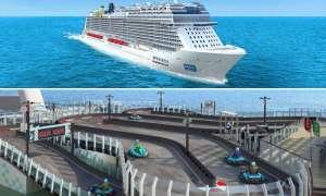 Norweski statek wycieczkowy będzie miał na pokładzie tor wyścigowy