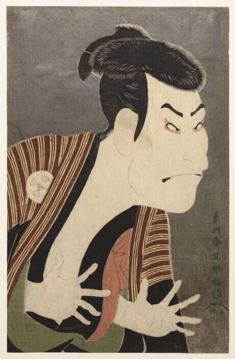 Drzeworyt Tōshūsaia Sharaku, przedstawiający aktora kabuki