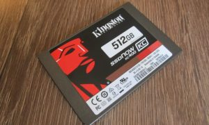 Test Kingston KC400 512 GB