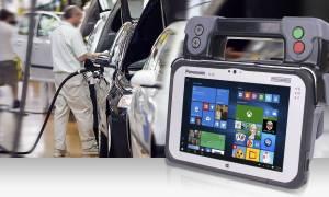 Oto mobilne urządzenie do testowania pojazdów (AMTS)