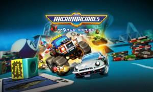 Recenzja gry Micro Machines World Series