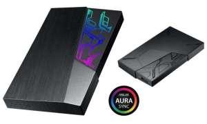 Asus wprowadza do oferty zewnętrzne dyski z podświetleniem RGB