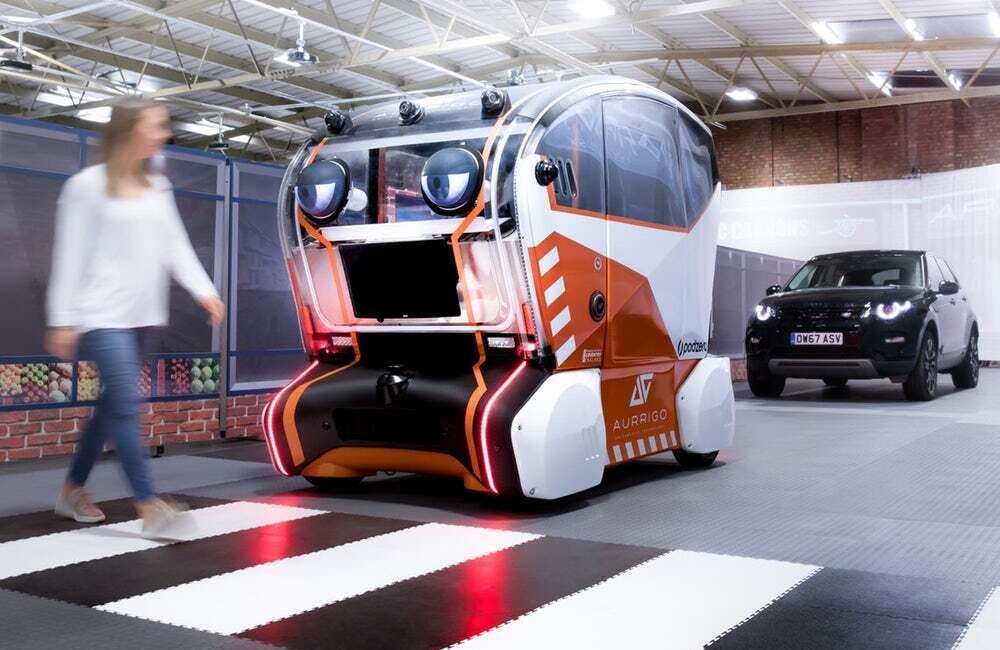 Jaguar Land Rover, Jaguar, Land Rover, auto, kontakt wzrokowy, autonomiczne, samochody