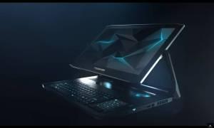 Ekranem w laptopie Predator Triton 900 będzie można… obracać!