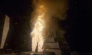 Zobaczcie jak japoński niszczyciel radzi sobie z pociskiem balistycznym