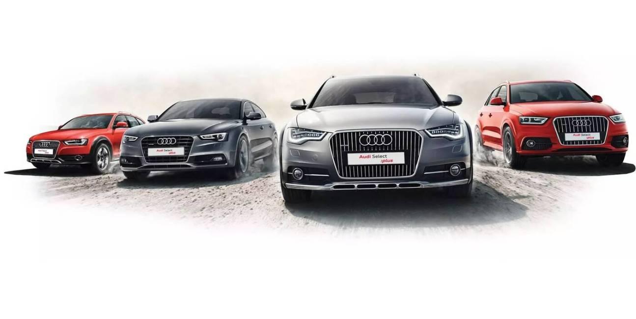 Wymieniaj samochody jak rękawiczki w ramach usługi Audi Select