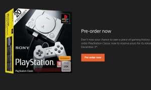 Wystartowała przedsprzedaż PlayStation Classic