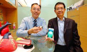 Urządzenie nasłuchujące płuca w celu wykrycia choroby serca