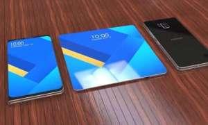 Patent zdradza funkcjonalność składanego smartfona Samsunga