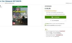 Cena i data premiery Cyberpunka 2077 według belgijskiego sklepu