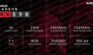 Ujawniono slajdy z premiery karty Radeon RX 590