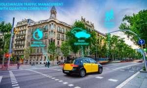 Według VW przyszłość ruchu ulicznego jest w rękach komputerów kwantowych