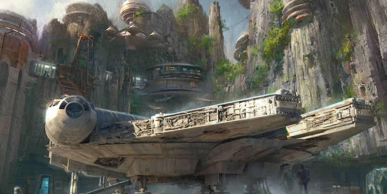 Star Wars, park Star Wars, disneyland Star Wars, gwiezdne wojny, park rozrywki gwiezdne wojny