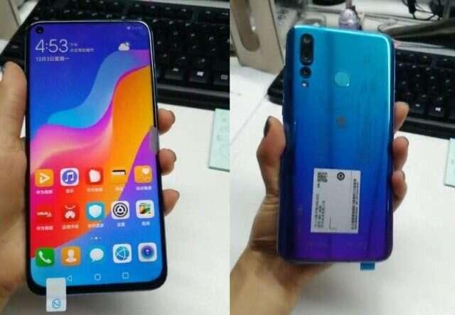 Huawei Nova 4, zdjęcie Huawei Nova 4, wygląd Huawei Nova 4, notch Huawei Nova 4, ekran Huawei Nova 4