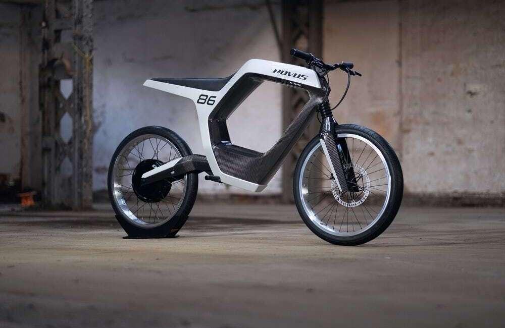 Elektryczny motocykl, Novus bike, Novus, elektryczny Novus