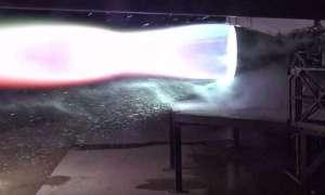 SpaceX po raz pierwszy przetestowało lotniczą wersję silnika Raptor