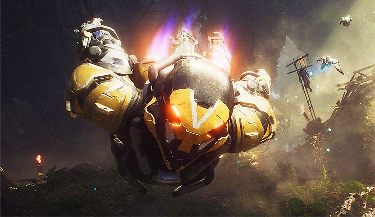 Anthem działa lepiej na PS4 Pro niż Xbox One X