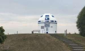 Naukowiec przemalował obserwatorium na modłę R2-D2 z uniwersum Star Wars
