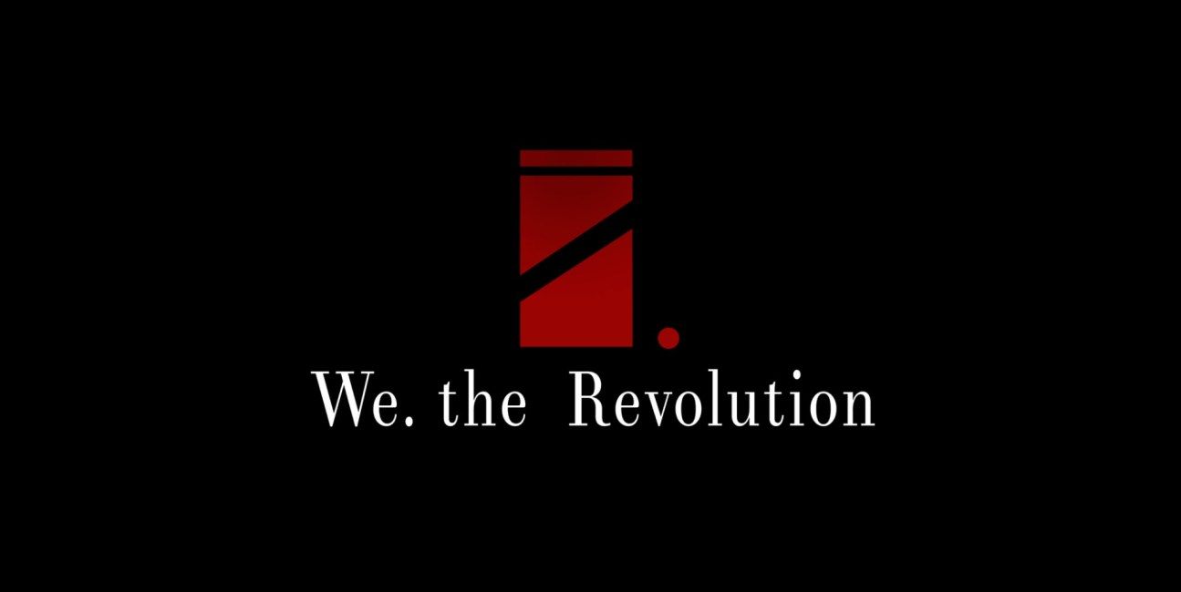 We. The Revolution tło