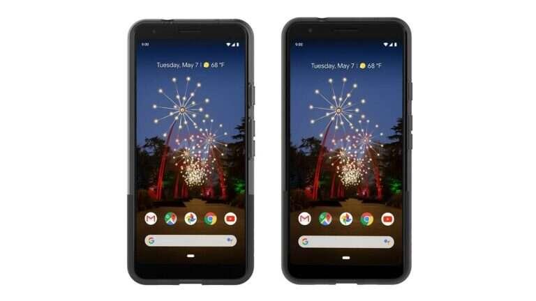 Google Pixel 3a, render Google Pixel 3a wygląd Google Pixel 3a, Google Pixel 3a XL, render Google Pixel 3a XL, wygląd Google Pixel 3a XL