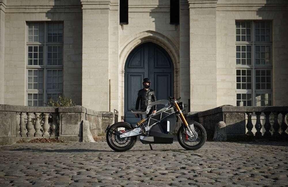 Elektryczny motocykl Essence e-Raw