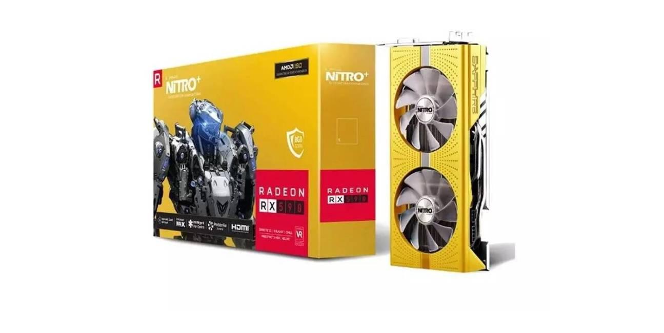 Wyjątkowy Radeon RX 590 od Sapphire na 50. rocznicę istnienia AMD