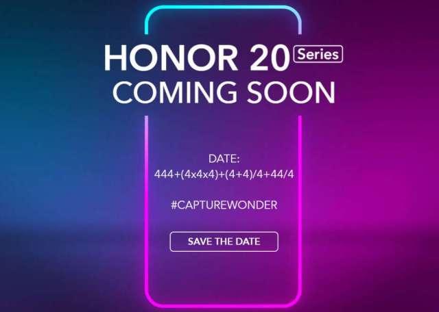 Honor 20, premiera Honor 20, data premiery Honor 20, debiut Honor 20