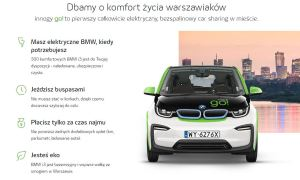 Innogy uruchamia największy w Polsce car sharing
