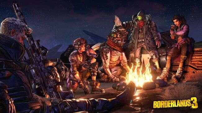 Grywalni bohaterowie Borderlands 3 i patronat AMD