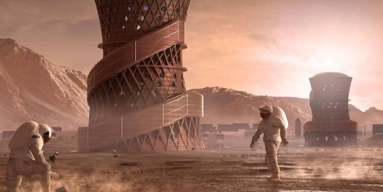 NASA ogłosiła trzy najlepsze pomysły na domy na Marsie