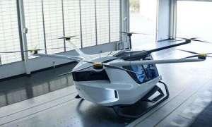 Latający samochód-dron Skai idzie w wodór