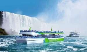Pierwsze w pełni elektryczne łodzie turystyczne zbliżą się do wodospadu Niagara